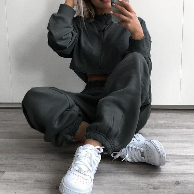 Winter track pants for ladies