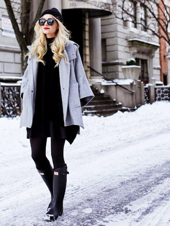 Colour combination cold weather style, winter clothing, street fashion, fashion blog