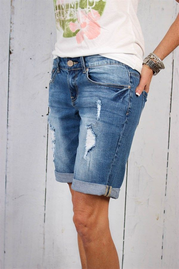 Blue clothing ideas with bermuda shorts, jean short, trousers