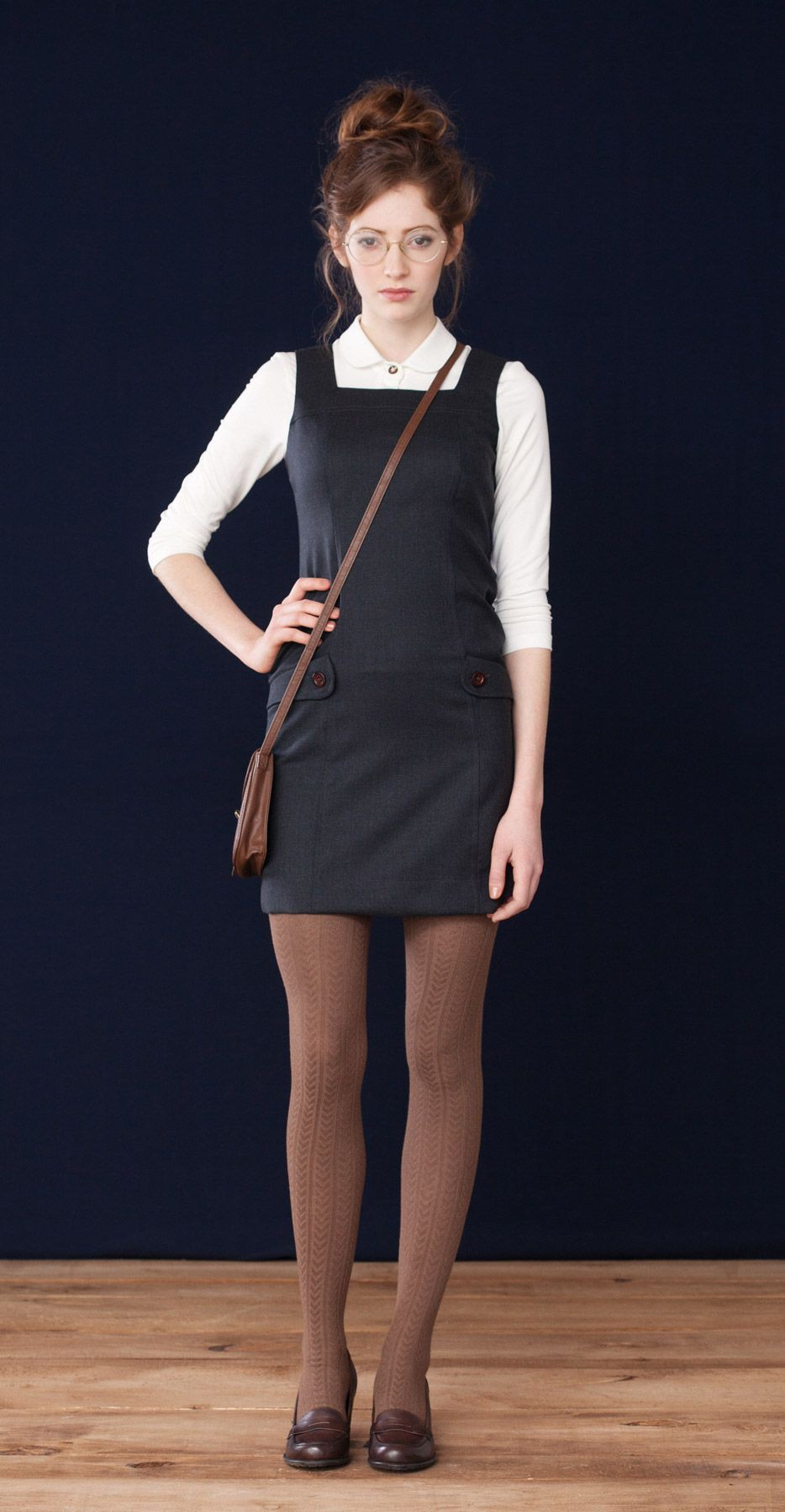 Colour outfit with little black dress, cocktail dress, little black dress, tights, skirt