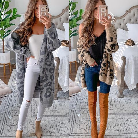 White outfit ideas with leggings, sweater, blazer