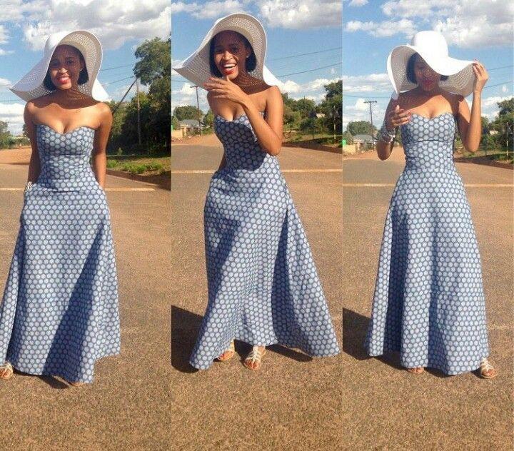 Attire shweshwe maxi dresses african wax prints, maxi dress