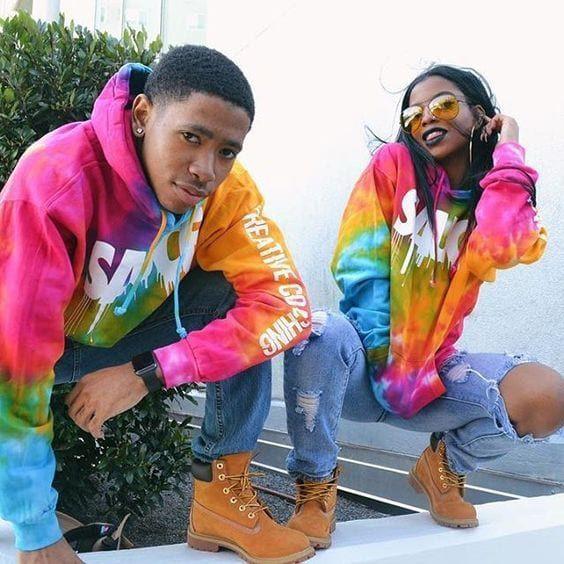 Ken and de arra matching outfits