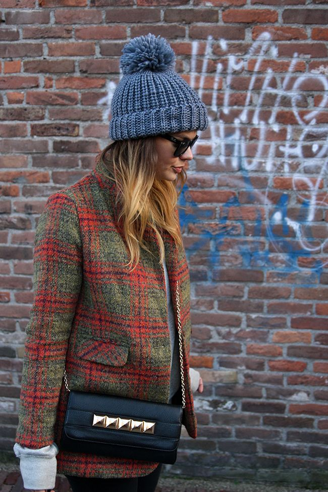 Formas de usar un gorro de lana mujer