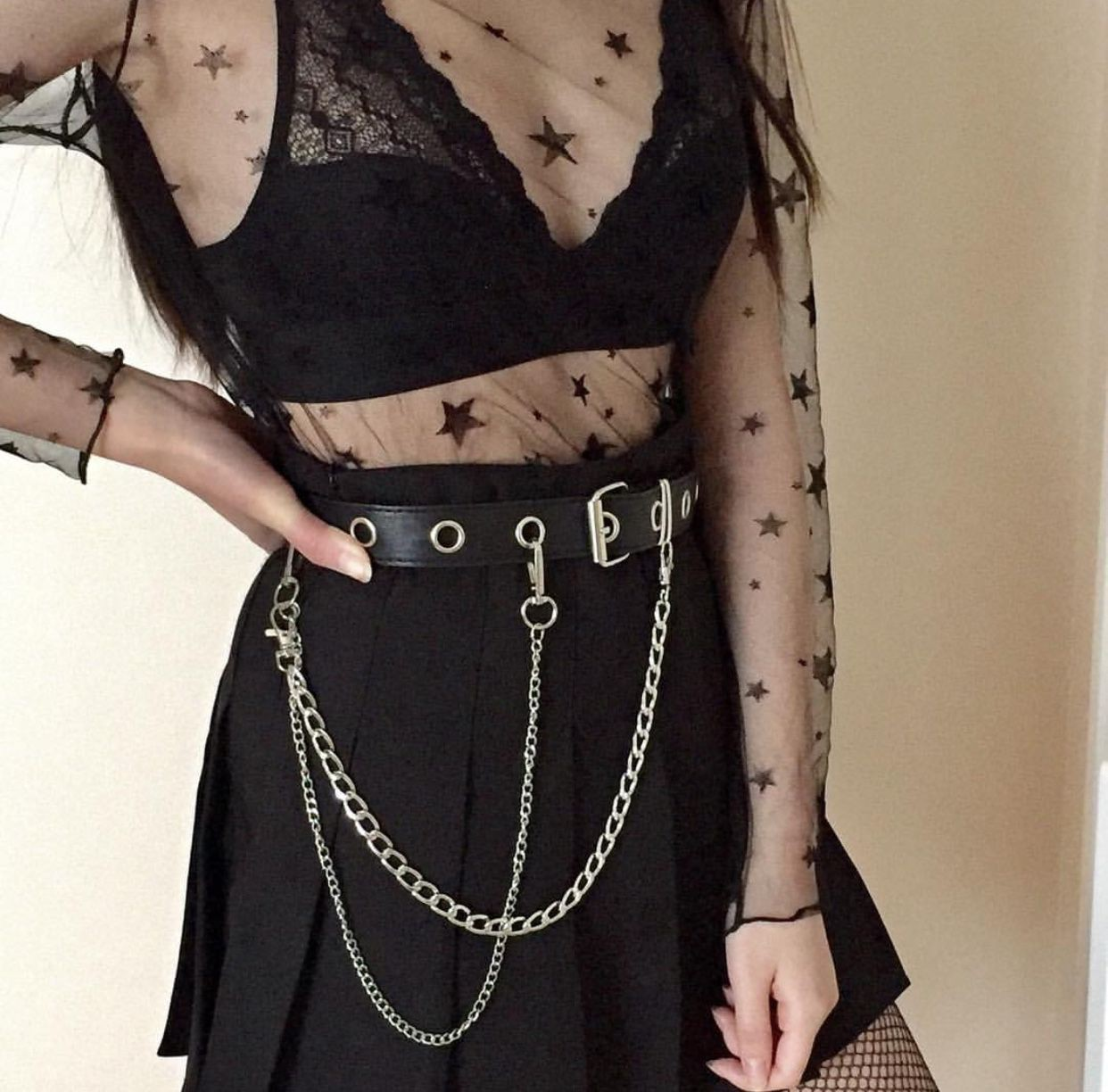 Black clothing ideas with evening gown