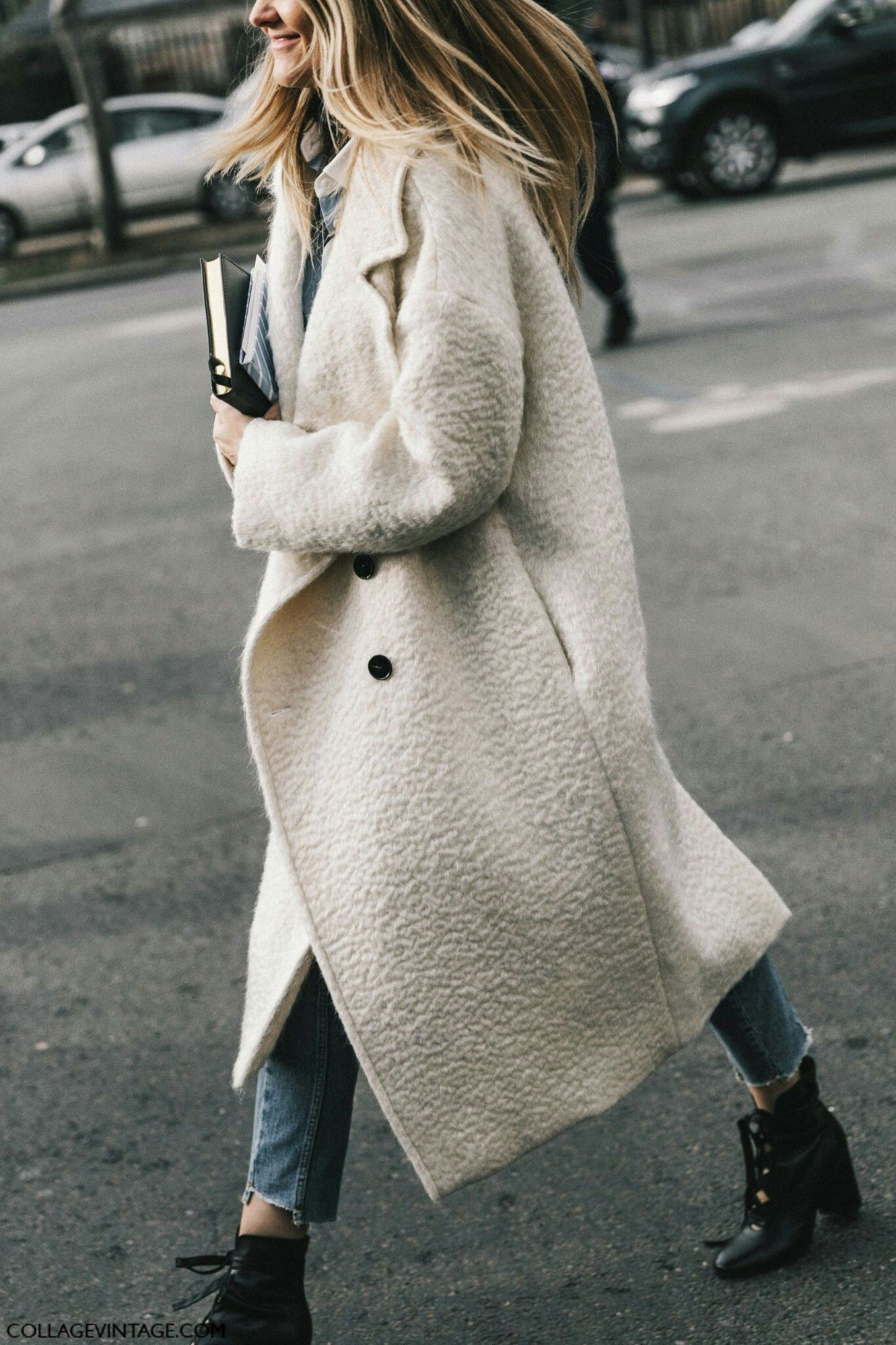 Wool coat street style, oversized coat, street fashion, trench coat