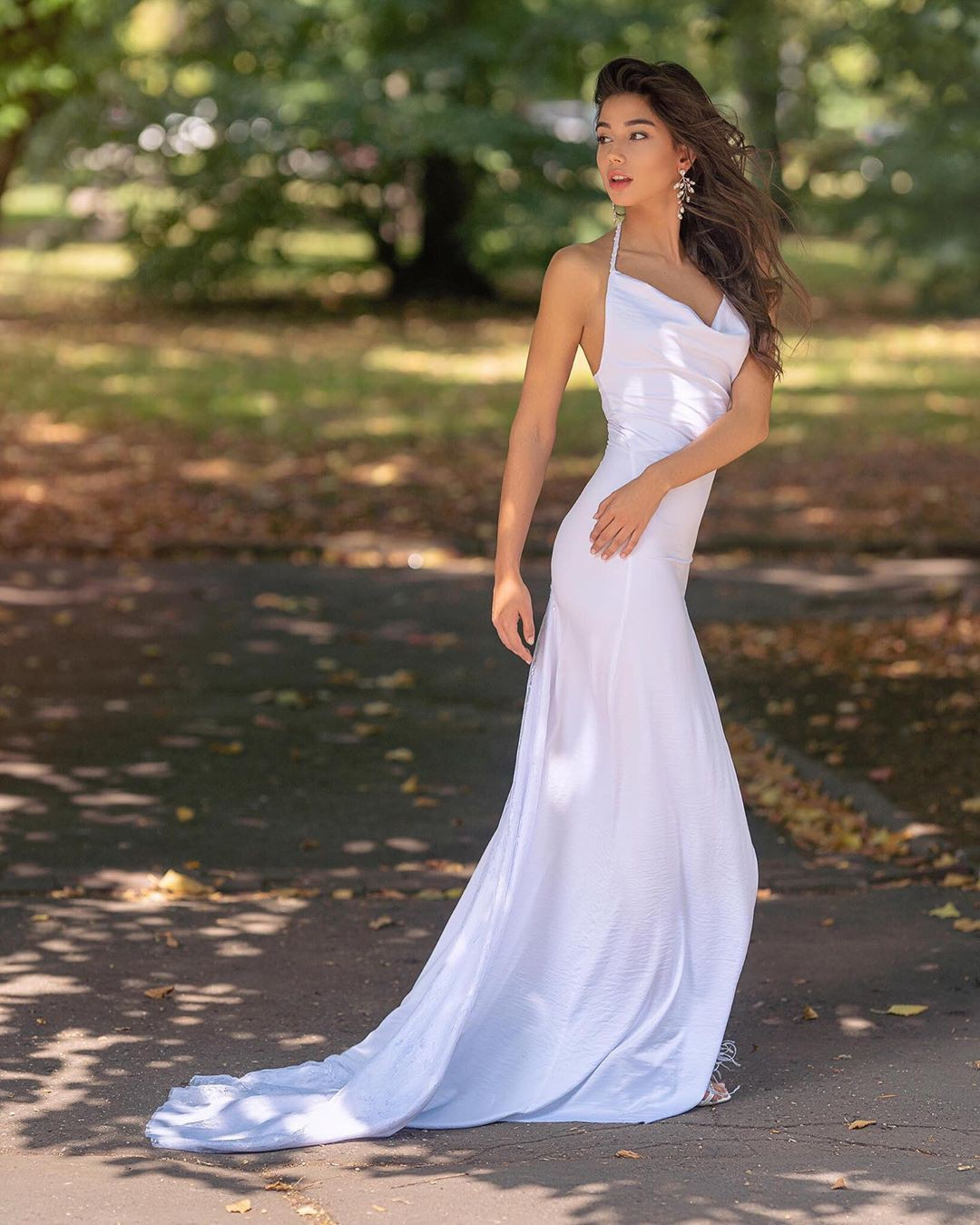 white outfit ideas with bridal clothing, wedding dress