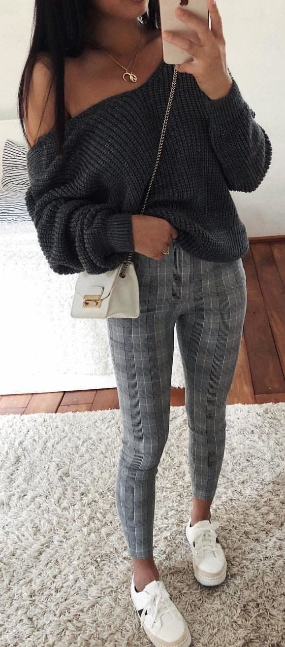 Black and white dresses ideas with trousers, sweater, tights