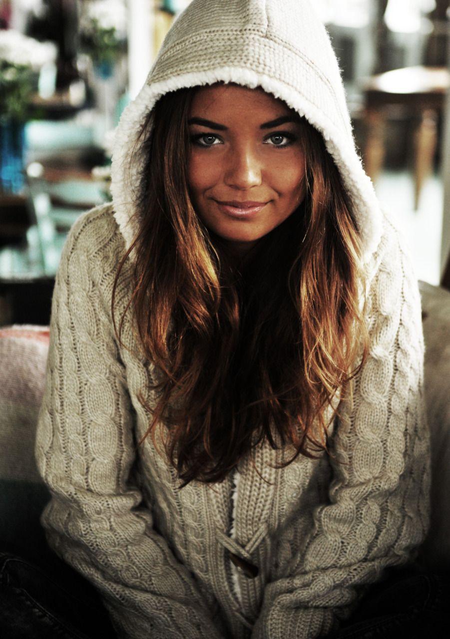 Clothing lookbook ideas with sweater, beanie, hoodie
