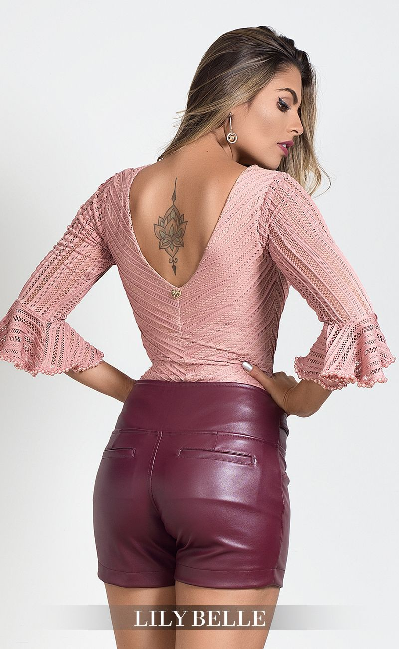 Magenta and pink colour outfit with cocktail dress, leather jacket, crop top, trousers