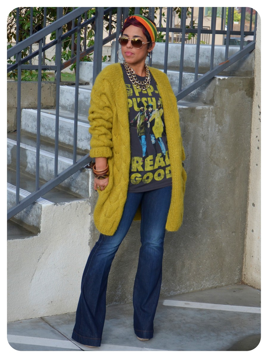 Yellow outfit ideas with sweater, blazer, jacket