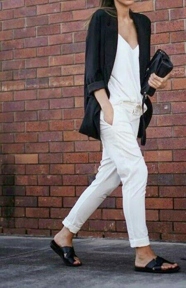 White colour outfit, you must try with formal wear, jacket, blazer
