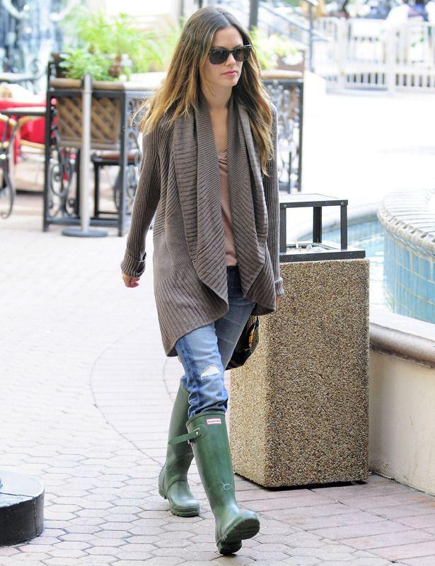 Botas de lluvia de moda