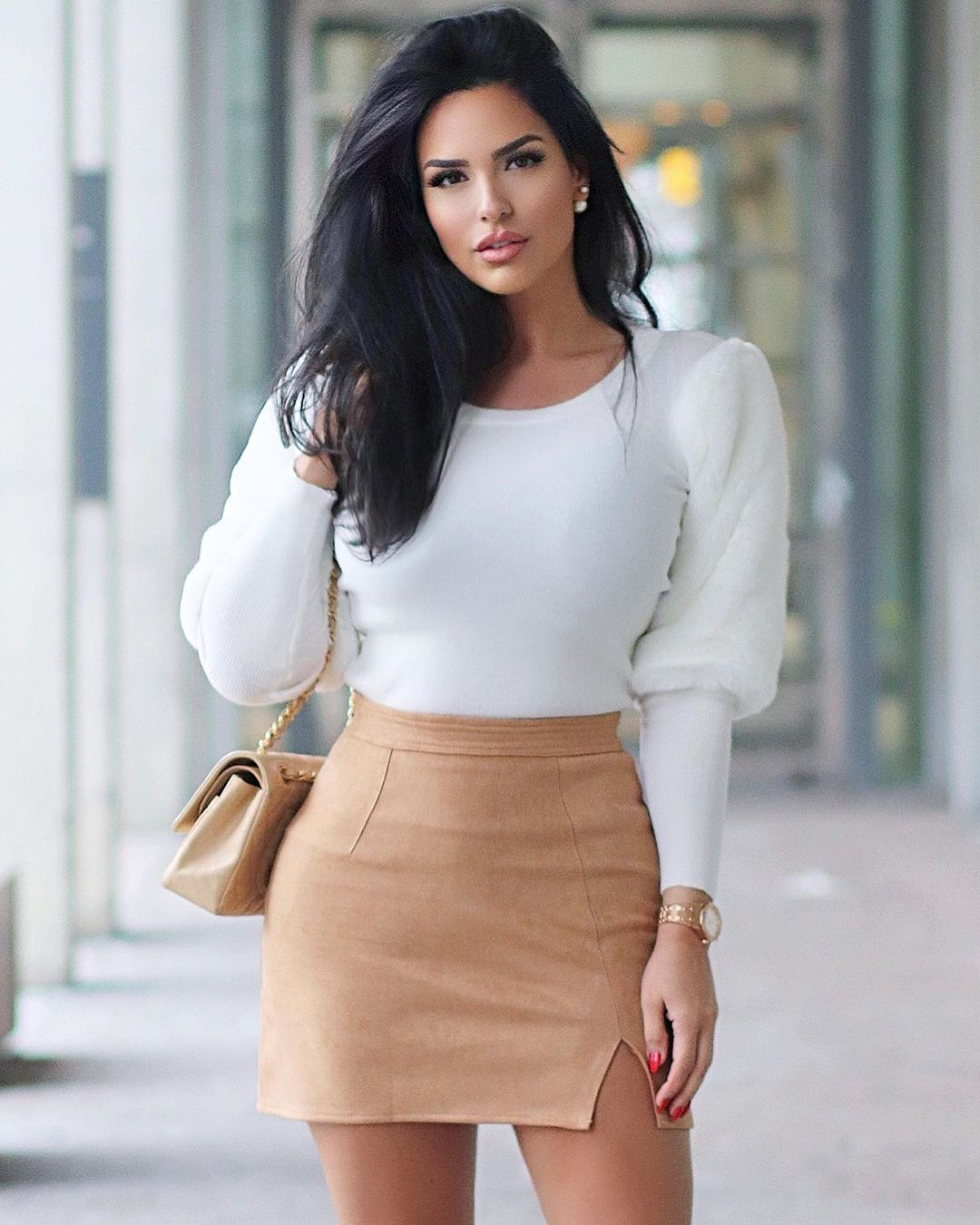 white colour dress with dress, fashion ideas, fashion model