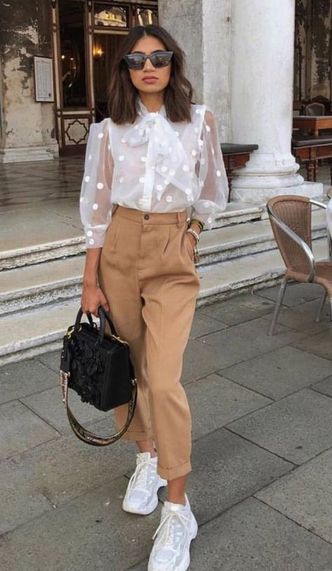 Colour outfit, you must try spring fashion 2020 outfit, street fashion, fashion model, casual wear