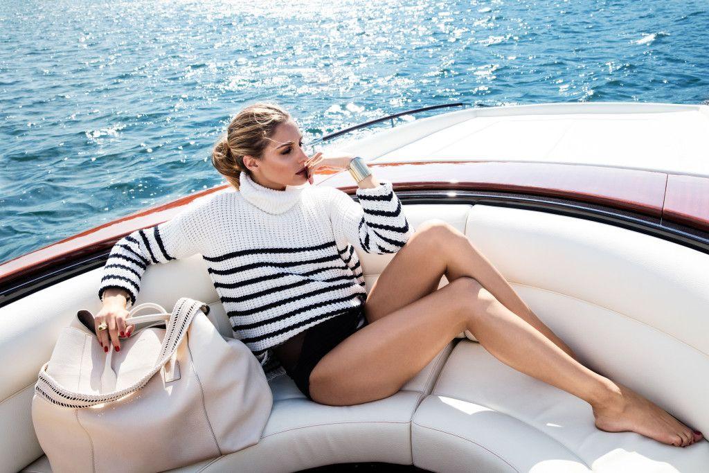 Olivia palermo aerin lauder, fashion accessory, perfect vacation, olivia palermo, luxury yacht,  ...