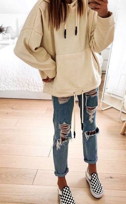 Instagram dress cute outfits hoodies, street fashion, casual wear, crop top