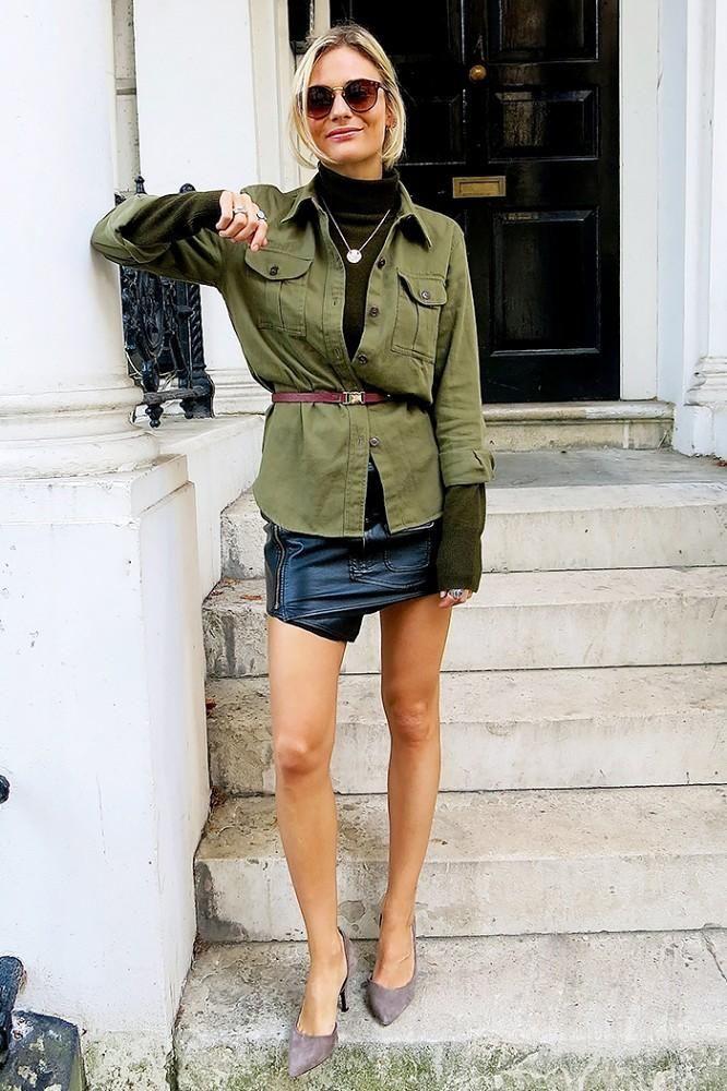 Outfit instagram pandora sykes sexy, street fashion, modern vice, polo neck