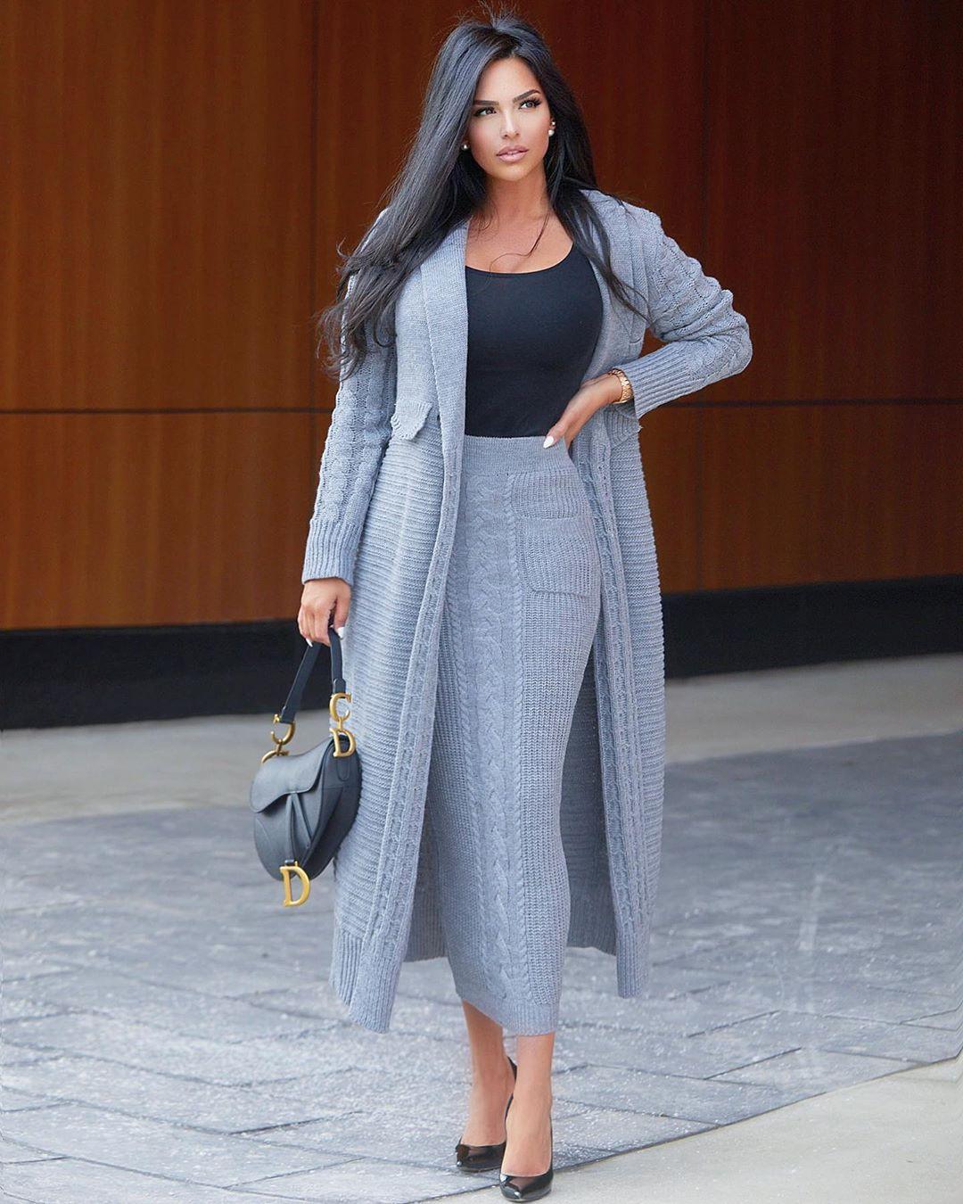 Shadi Y Cair dress matching outfit, wardrobe ideas, street fashion