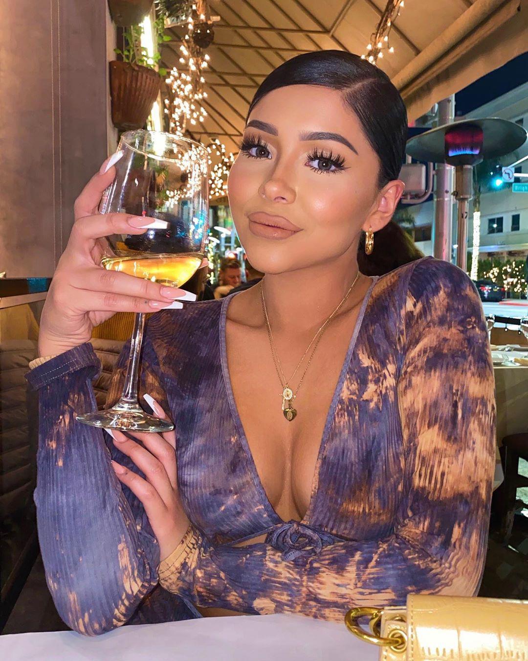 Daisy Marquez, distilled beverage, champagne stemware, wine glass