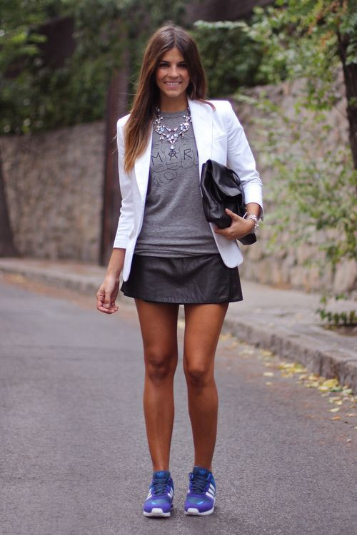 White colour outfit ideas 2020 with blazer, jacket, shorts