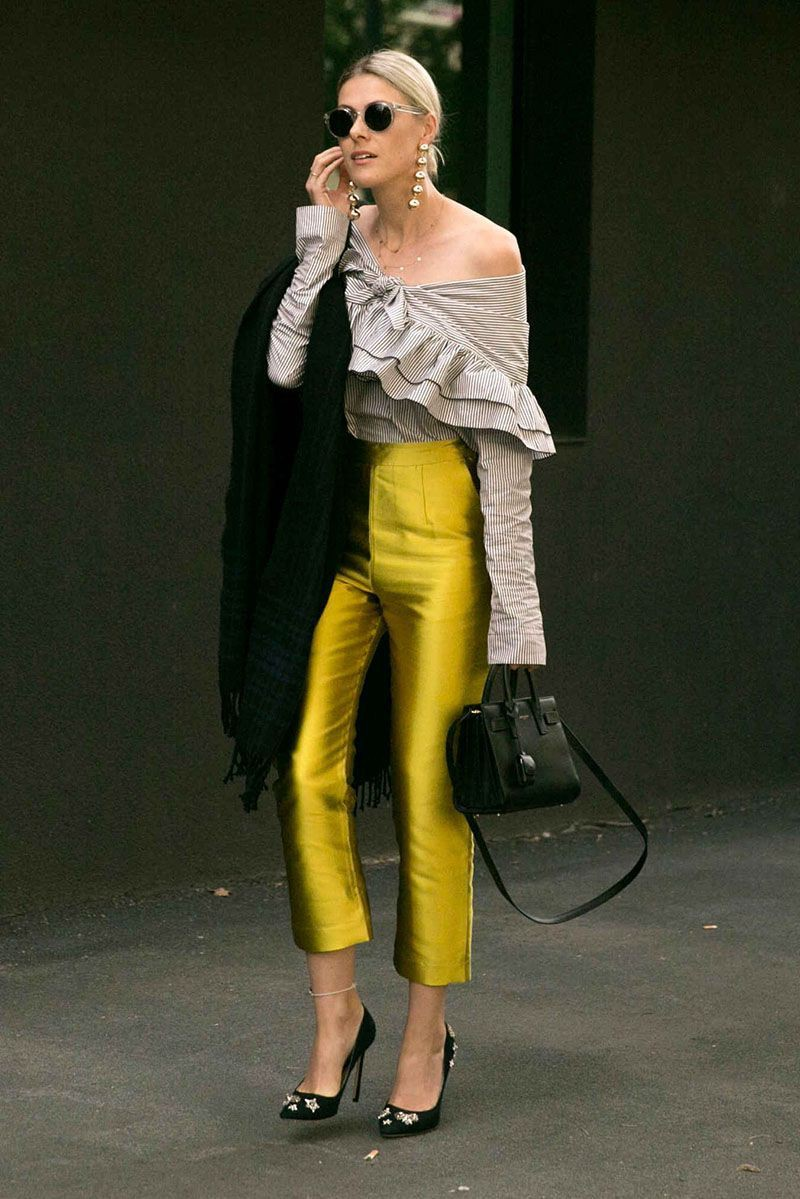 Yellow outfit Stylevore with