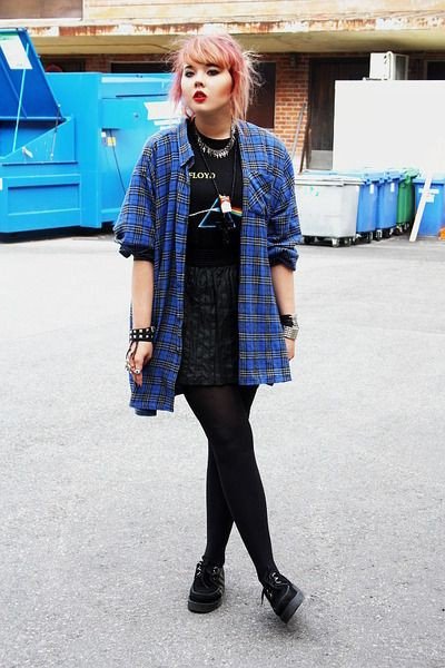 Outfit style underground creepers style t.u.k., brothel creeper