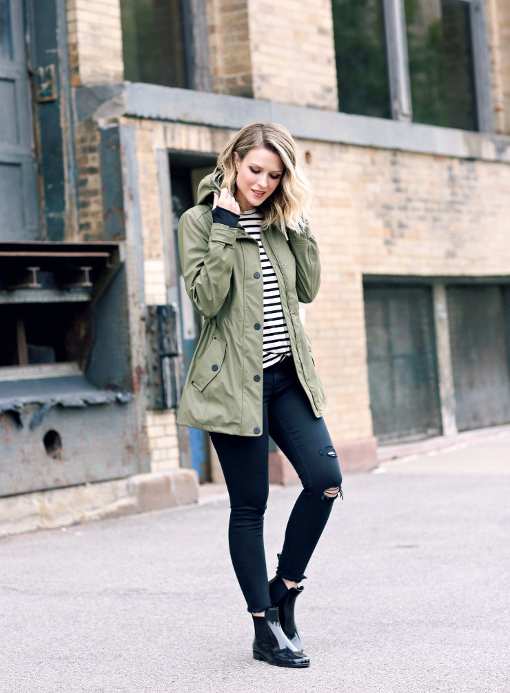 Cute rainy day outfits, wellington boot, street fashion