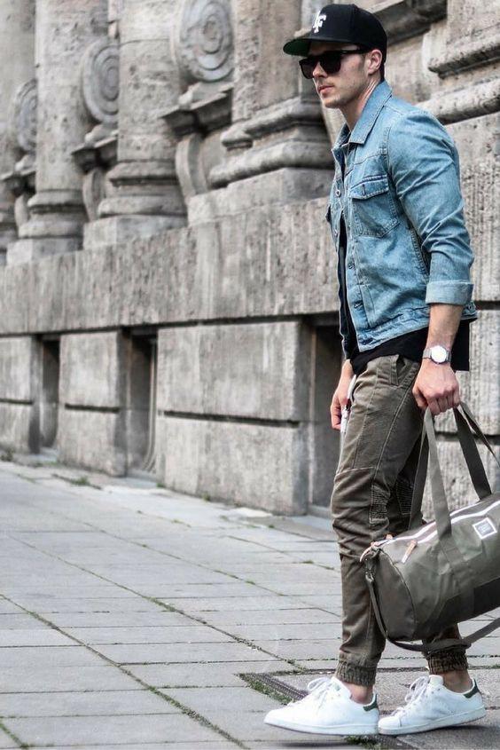 Phong cách thời trang jean nam