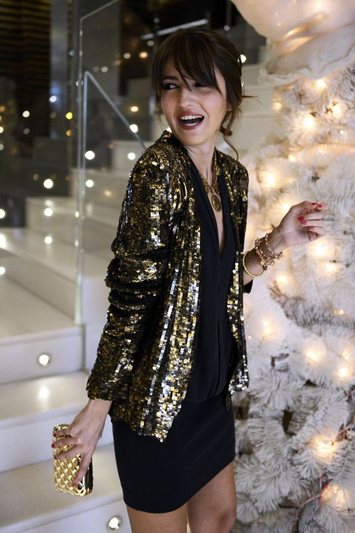 Christmas party outfit ideas 2018 new years eve, street fashion