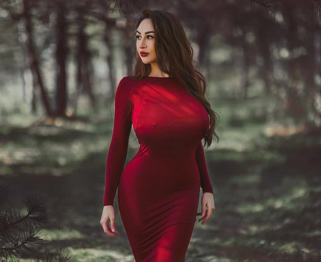 Louisa Khovanski cocktail dress colour dress, outfit ideas