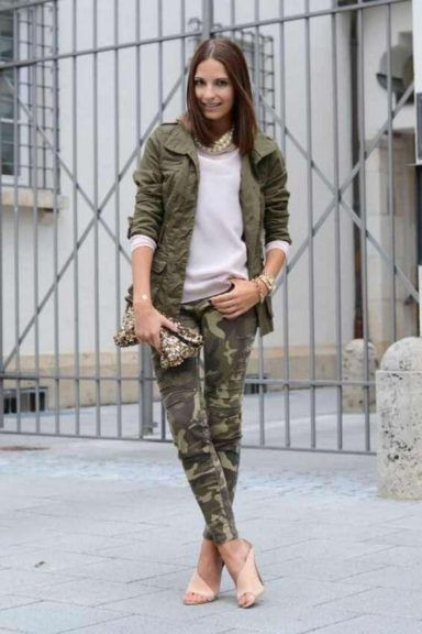 Khaki colour ideas with cargo pants, trousers, blazer