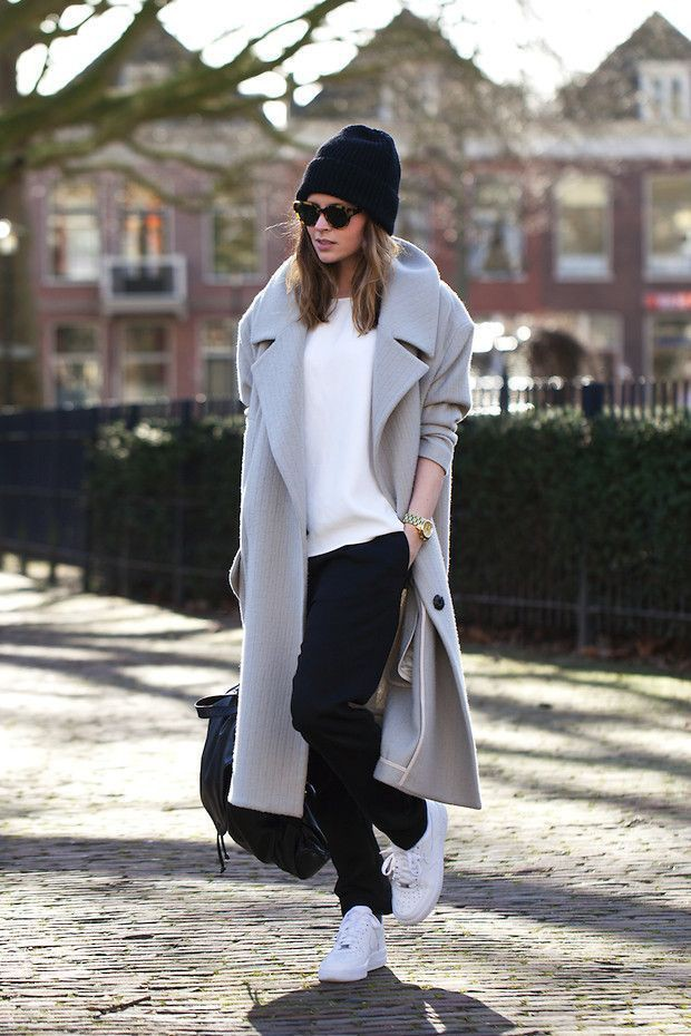 Clothing ideas long coat looks, street fashion, trench coat, polo neck