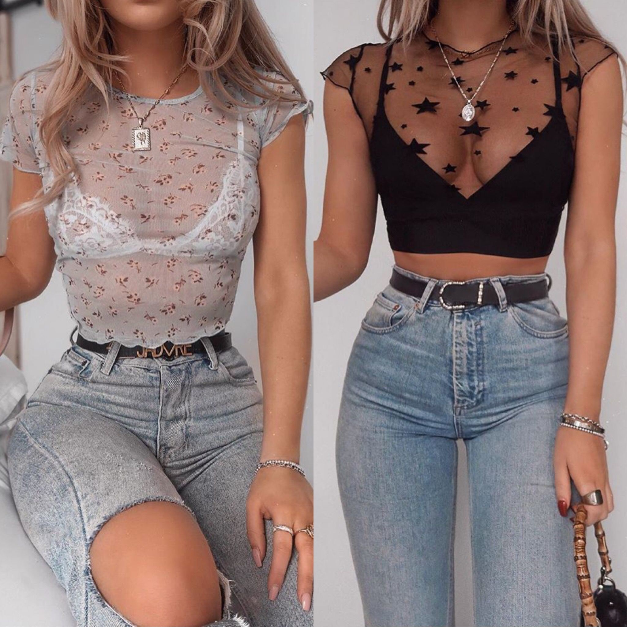 Colour outfit, you must try with jean short, crop top, shirt