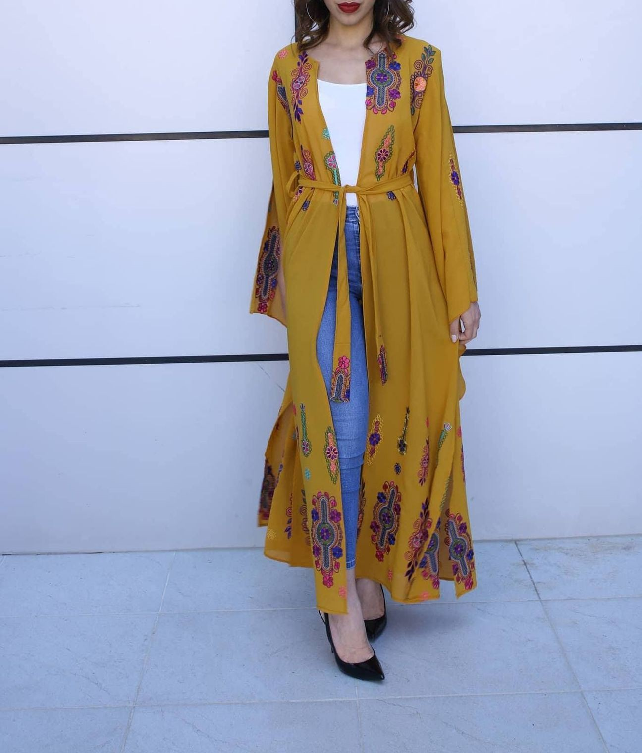 Orange and yellow dresses ideas with formal wear, embroidery