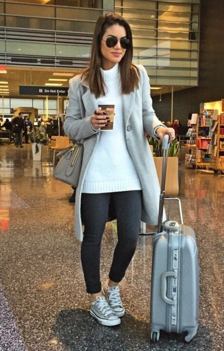 Travel outfit for long flight