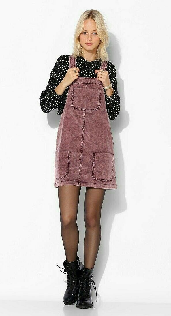 Corduroy overall skirt outfit urban outfitters bdg, urban outfitters