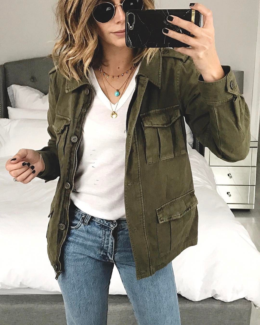 Style outfit utility jacket outfit, casual wear, t shirt
