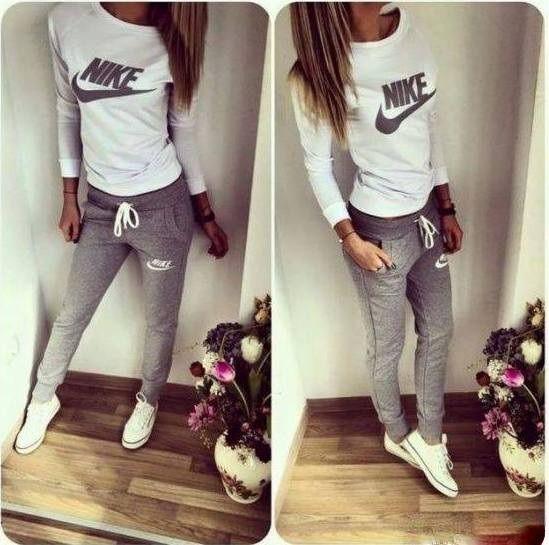 Outfit ideas cute nike outfits nike sweat pants, t shirt