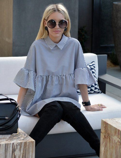 Turn-Down Collar Casual Blouse Dress | Summer Outfit Ideas 2020