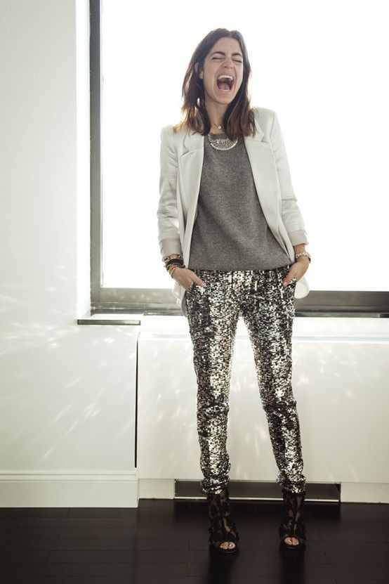 White colour ideas with formal wear, trousers, leggings