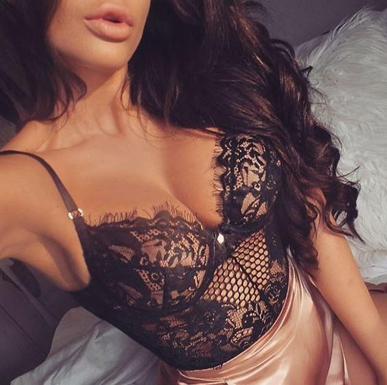 Colour outfit ideas 2020 with lingerie top, nightwear
