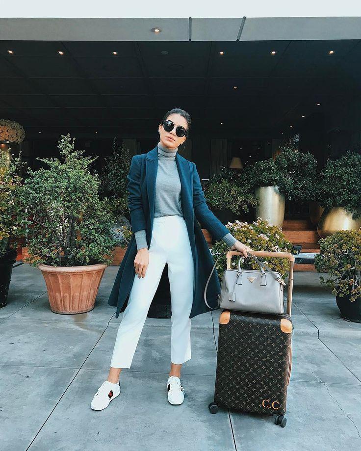 Camila coelho airport style, street fashion, camila coelho