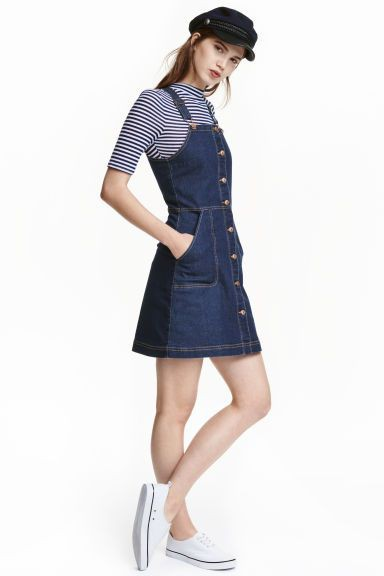 Colour dress dungaree dress singapore denim dungaree dress, short dungaree dress, denim jumper dress
