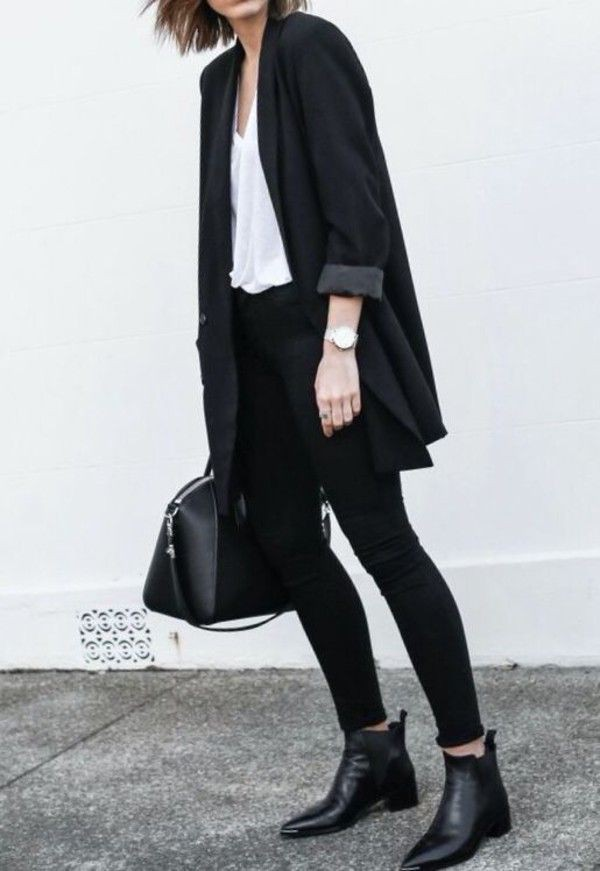 Cute outfit ideas minimalist black outfit, minimalist fashion, capsule wardrobe, street fashion, ...
