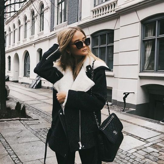 White and black colour outfit with jacket, blazer, jeans