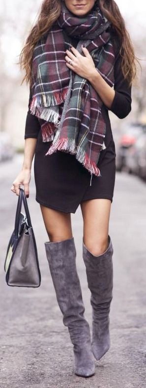 Winter outfit for women, winter clothing, street fashion, casual wear