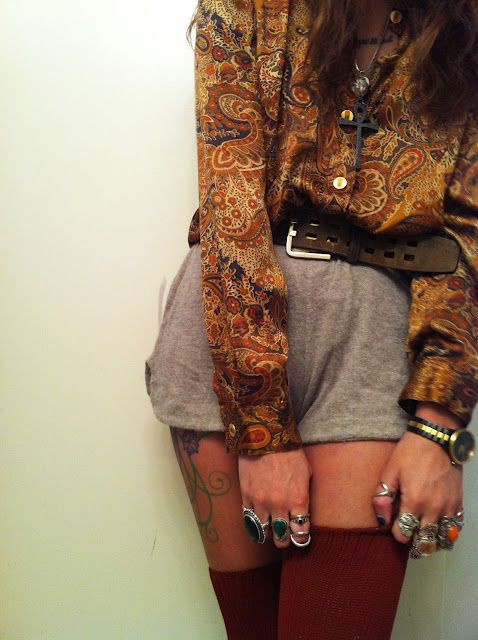 Brown trendy clothing ideas with fashion accessory, vintage clothing, retro style