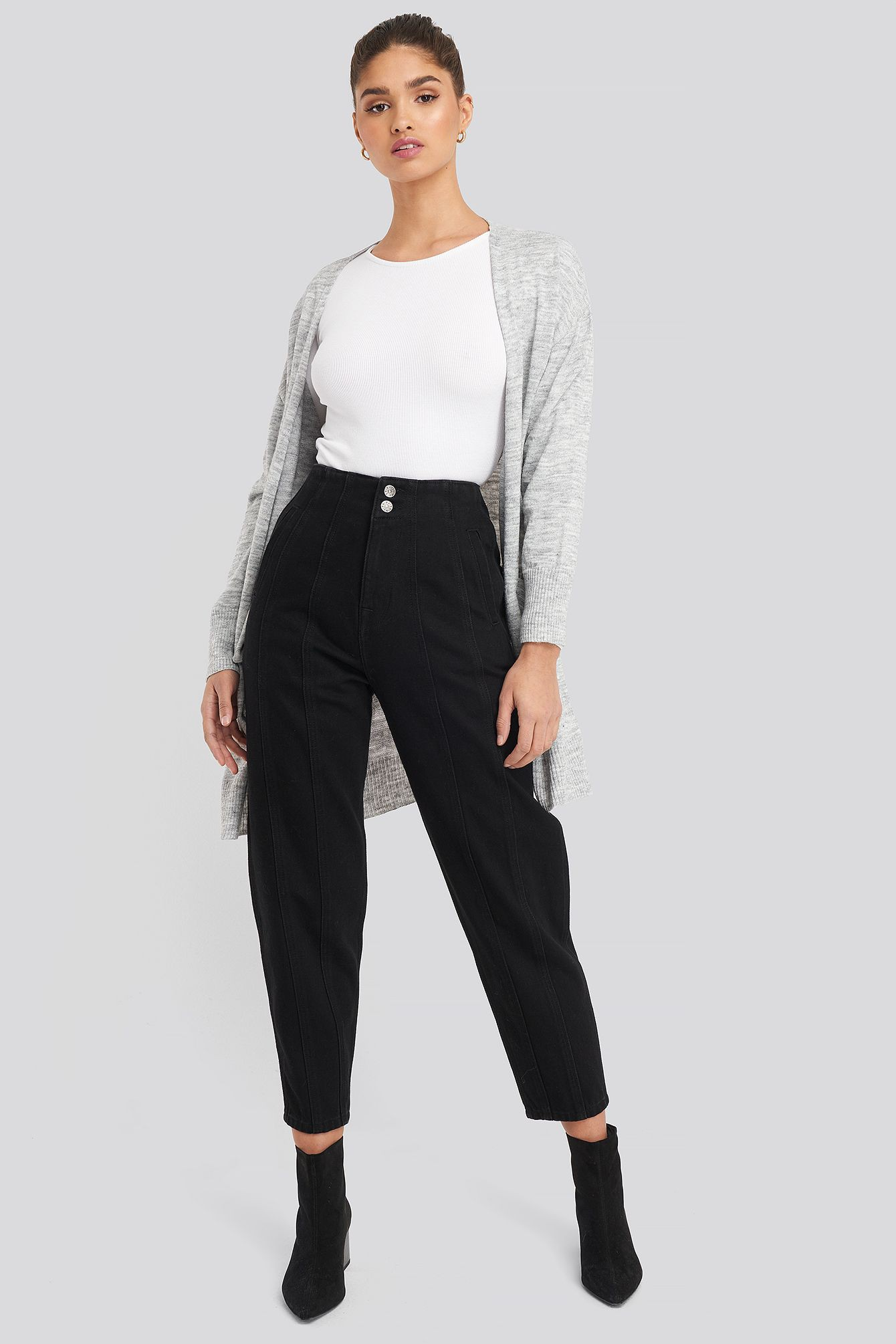 Black and white colour ideas with sportswear, trousers, jeans
