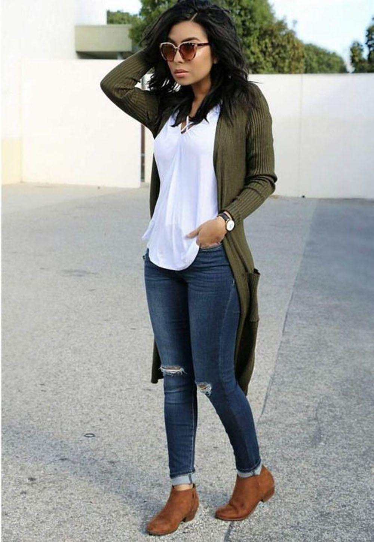 Outfit Pinterest roupas femininas estilosas, street fashion, casual wear, t shirt